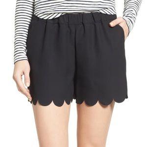 MADEWELL scallop edge shorts
